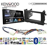 Volunteer Audio Kenwood DMX7704S Double Din Radio Install Kit with Apple CarPlay Android Auto Bluetooth Fits 2014-2015 Toyota Highlander