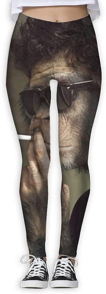 QQMIMIG Printed Leggings Smoke Monkey Leggings Workout Leggings Women Girls