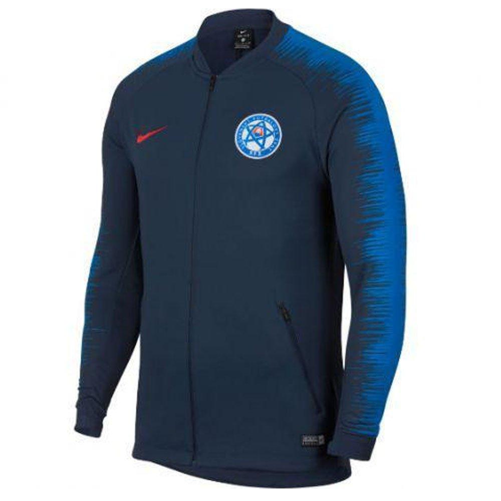 Nike 2018-2019 Slovakia Anthem Jacket (Navy)