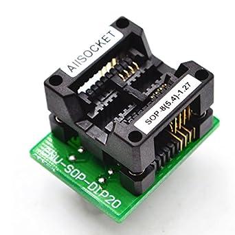 7fcebed65ad9 ALLSOCKET SOP8-5.4-1.27 SOP8 Package SOIC8 SO8 SOP8 to DIP8 Chip ...