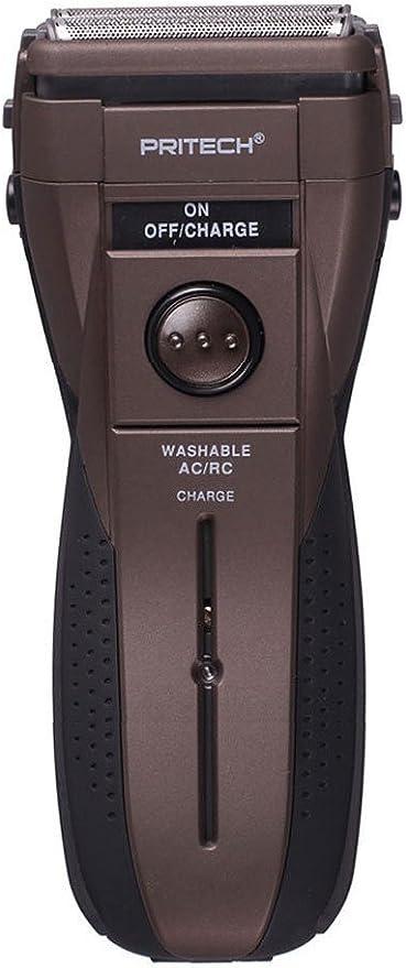 Pritech – Afeitadora eléctrica inalámbrica – recargable – etranche ...