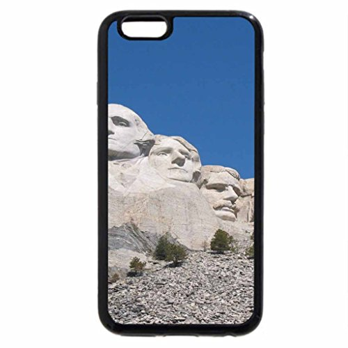 iPhone 6S / iPhone 6 Case (Black) National Monument Mount Rushmore