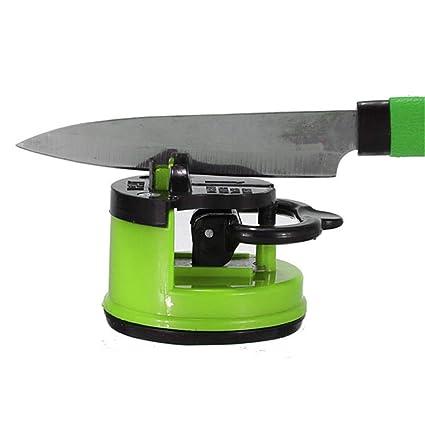 Amazon.com: Afilador de cuchillos de acero de 3 colores con ...