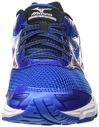 Mizuno Men's Wave Legend 4 Running Shoes Blue (Skydiver/Silver/Clownfish) XbmdFwXY