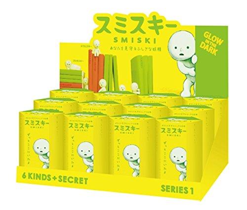 Series 1 Miniature (Dreams Smiski Glow In The Dark Figure, Series 1, Random Styles, 12 Pack)