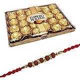 SFU E Com Ferrero Rocher Chocolate 24 Pieces with Rakhi