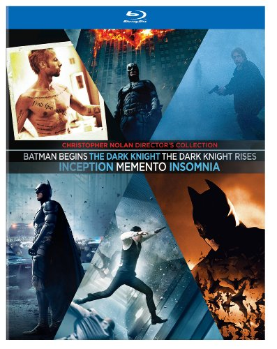Christopher Nolan Director's Collection (Memento / Insomnia / Batman Begins / The Dark Knight / Inception / The Dark Knight Rises) (Batman Black Knight Rises)