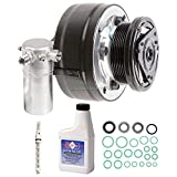 New AC Compressor & Clutch With Complete A/C Repair Kit For Chevrolet & GMC - BuyAutoParts 60-81906RK New