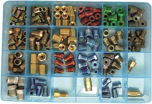 FMSI Automotive Hardware 269 Brake Line Fitting Assortment (158 Pieces)
