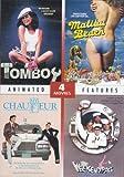 4 Drive-In Features: TOMBOY (1985), MY CHAUFFEUR (1986), WEEKEND PASS (1984) and MALIBU BEACH (1978) (DVD) - Starring Phil Hartman, Deborah Foreman, Betsy Russell, Howard Hessmen (2011 - DVD)