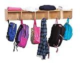 Childcraft Wall Coat Locker with Shelf, 47-3/4 x 7-3/4 x 7-3/4 Inches