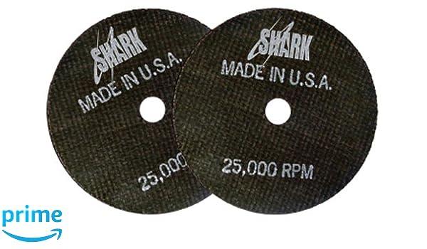 Shark Welding 24-50 Shark Cut-Off Wheel 50-Pack 3-Inch by 1//16-Inch by 3//8-Inch