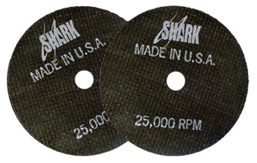 Shark Welding 26-20 Shark 3-Inch by 1/32-Inch by 3/8-Inch Cut-Off Wheel 20 Pk by Shark