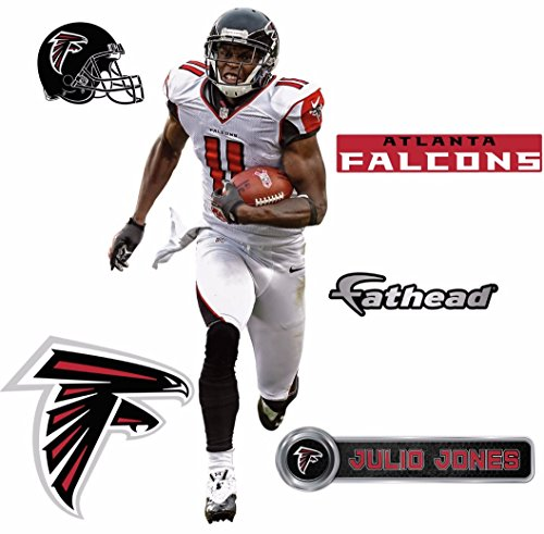 Atlanta Wall - Julio Jones FATHEAD Atlanta Falcons Logo Set Official NFL Vinyl Graphics 17