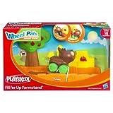 Playskool Wheel Pals Animal Tracks Fill 'Er Up Farmstand