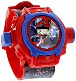 S S Traders Spiderman Unique 24 Images Projector Digital Toy Kid's Watch