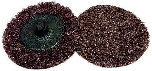Griton QS3205 2' Surface Conditioning Disc, Industrial Grade Type 3, Medium, Maroon (Pack of 50)