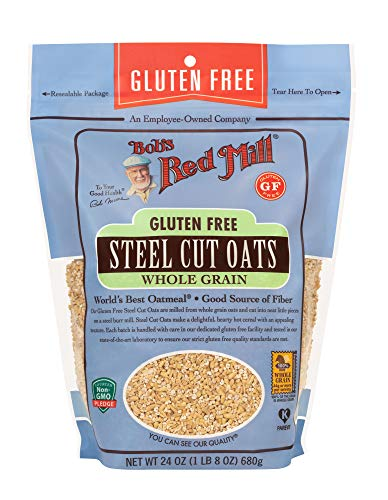 (Bob's Red Mill - Gluten Free Steel Cut Oats, Regular 24 Oz, Pack of 4)