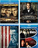 Leonardo Dicaprio Movies - The Great Gatsby/ The Departed/ Internal Affairs/ Gangs of New York/ J. Edgar (Blu ray + DVD + Digital HD)