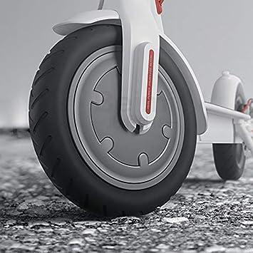 8,5 Zoll Xiaomi M365 Elektroroller Teile Vorder//Hintergummi Vermeiden Sie Luftreifen Explosionsgesch/ützt Konesky Elektroroller Voll Reifen