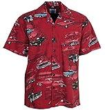 Pontiac Firebird GTO Classic Cars Hawaiian Camp Shirt by David Carey (XL)