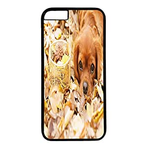 Custom Protective Phone Case Cover For iPhone 6 DIY Durable Shell Skin For iPhone 6 with Dog and Blanket