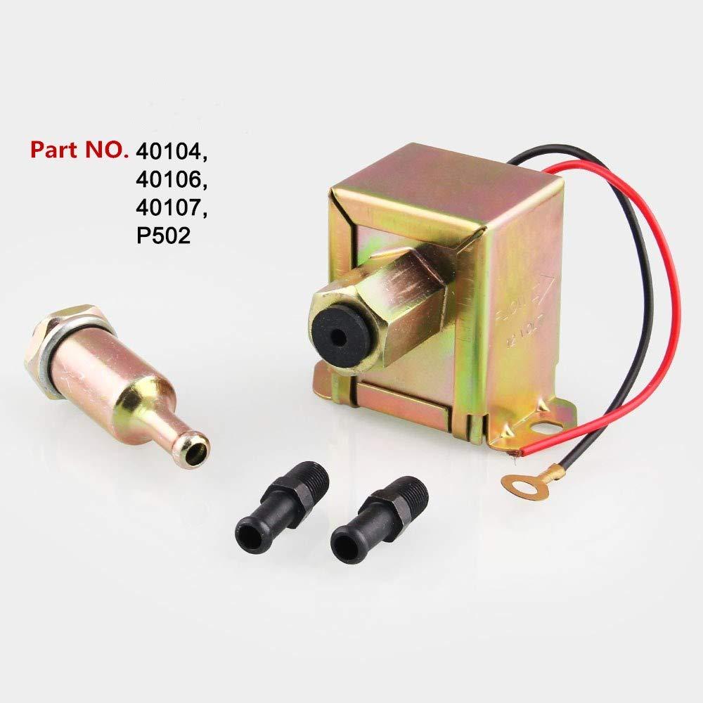 Lanyifang Pompa di Benzina della Pompa di Benzina Elettronica Universale 12V Pompa de Carburante Generale de Motore per Gasolio Diesel Auto Carburatore