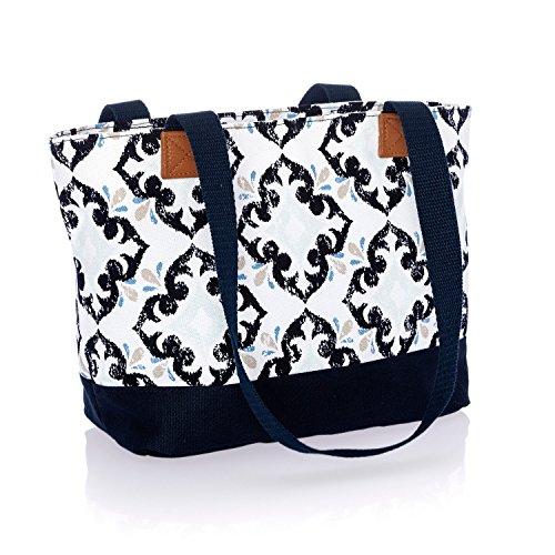 (Thirty One Demi Day Bag in Fab Flourish - No Monogram - 8661)