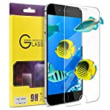 "iPhone 7 Screen Protector, ATGOIN Tempered Glass [0.2mm, 2.5D][No Bubble] 9H Hardness Screen Protector Fit for Apple iPhone 7 & iPhone 6/6s 4.7"" Clear"