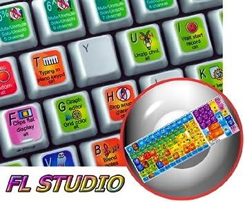 New Color Editing Sticker Keyboard Track Studio N
