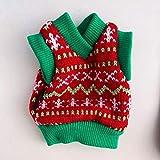 FULUE Ferret Christmas Sweater Vest