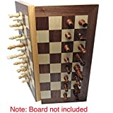 GrowUpSmart Magnetic Chess Pieces, 3 inch King