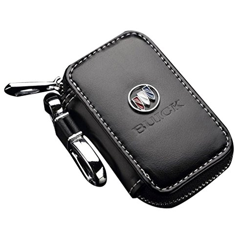 ffomo Bearfire Leather Car Key Case Remote Control Package Auto Key Chains(Buick)
