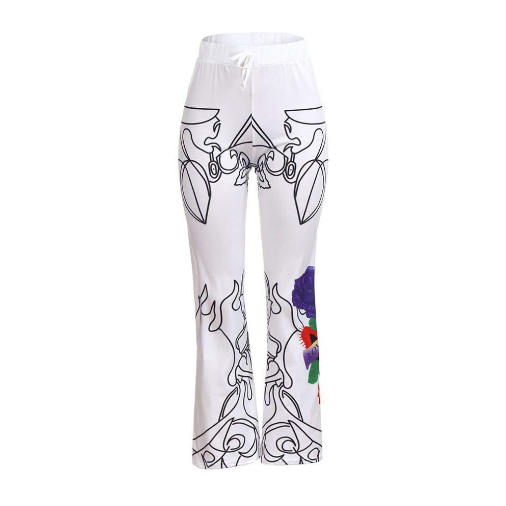Molyveva Women Pants APPAREL レディース B07GW8BYC3 ホワイト XX-Large
