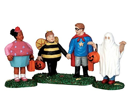 Halloween Trick Or Treaters (Lemax Spooky Town New Trick Or Treaters Set of 3 #)
