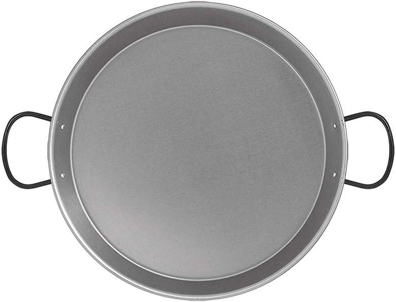 Metaltex - Paellera pulida inducción 30 cm: Amazon.es: Hogar