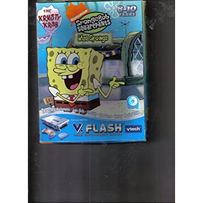 SpongeBob Squarepants, Idea Sponge, The Krusty Krab V.Flash Hope Edutainment System (V.Disc): Software