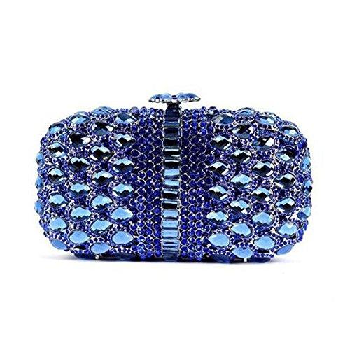 Violet petit Chirrupy Chief femme pour Pochette bleu violet IUn8I