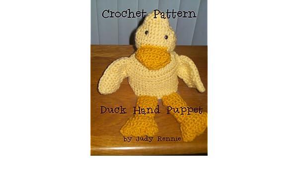 Crochet Pattern - Duck Hand Puppet