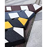 Roadtech Manufacturing Recycled Rubber Parking Blocks Car Stops