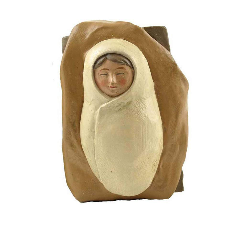 JIAHUADE Catholic Resin Crafts Christian Jesus Birth Manger Group Religious Ornaments