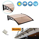 MCombo 116 inch / 78 inch / 39 inch Window Awning