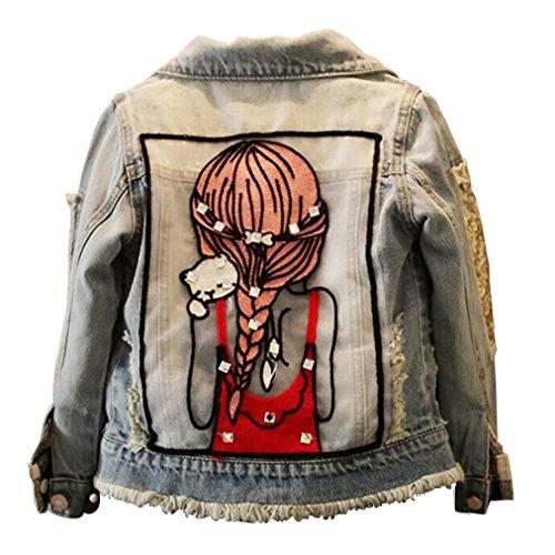 Patchwork Girls Jacket - 5
