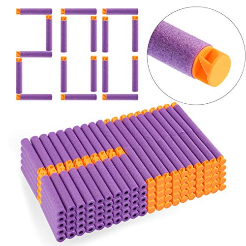 FidgetFidget 200 Dart Refill Pack for Nerf N-Strike Elite for Accustrike Series Replacement New Purple from FidgetFidget