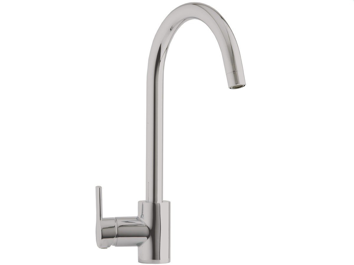 Astracast TP0772 Elera Single Lever Mixer Tap in Brushed Steel ...