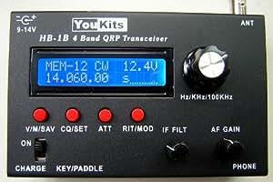 Youkits HB1B MK3 HF 4 Band QRP CW transceiver
