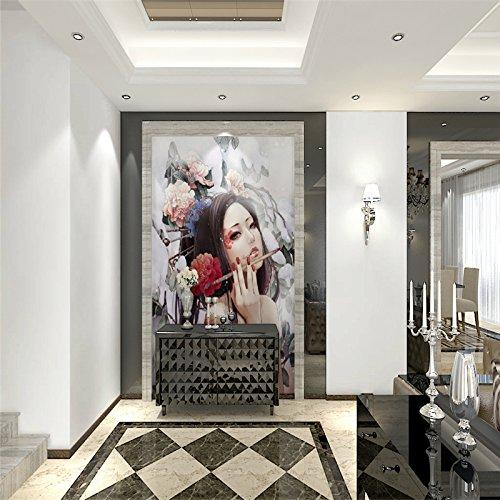 Sproud Japanese Custom 3D Wallpaper Mural 3D Wallpaper Backdrop Of Large Japanese Beauty Parlor Tattoo Parlor, Beauty Art Fig. 150Cmx105Cm