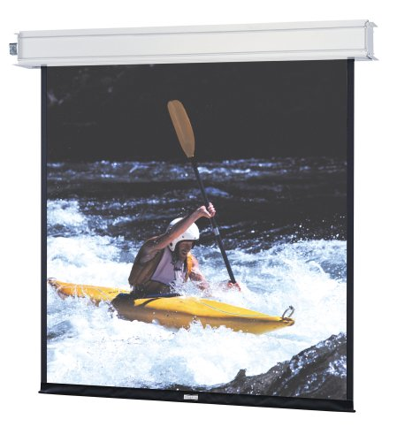 - 34521 Advantage Electrol Motorized Front Projection Screen - 69 x 110