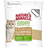 Nature's Miracle Premium Clumping Corn Cob Litter, 10 lb