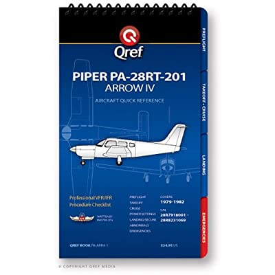 Piper Arrow IV PA-28RT-201 Qref Book